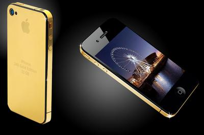 I PHONE GOLD EDITION