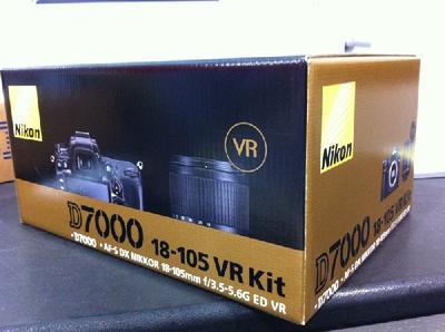 Nikon D7000 Full Kit